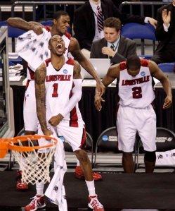 NCAA Arizona Louisville Basketball