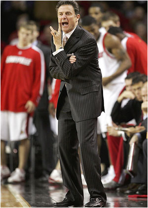 Rick Pitino will now be pacing the sidelines at Arizona.